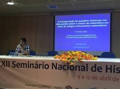 XII SNHM, UNIFEI, Itajubá, MG, Brasil - 2017