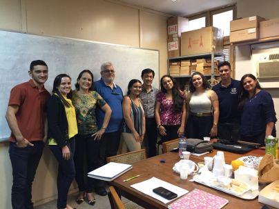 Estudos integrados GPEHM/UECE, Fortaleza, CE, Brasil, setembro 2018
